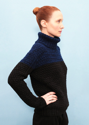 Теплые шерстяные свитеры, шапки и платья Knitbrary. Изображение № 5.