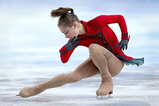 Новое имя:  Олимпийская чемпионка  Юлия Липницкая. Изображение № 1.