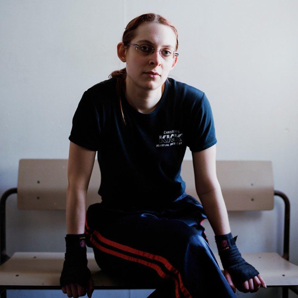 «Женщины с кулаками»: Кикбоксерши после боя. Изображение № 8.