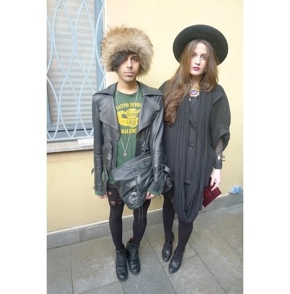 Изображение 13. Milan Fashion Week: день второй — луки.. Изображение № 7.