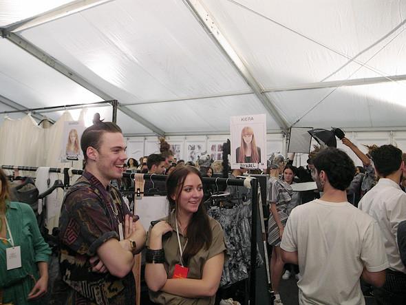 London Fashion Week: Репортаж с бэкстейджей House of Holland и Vivienne Westwood. Изображение № 18.