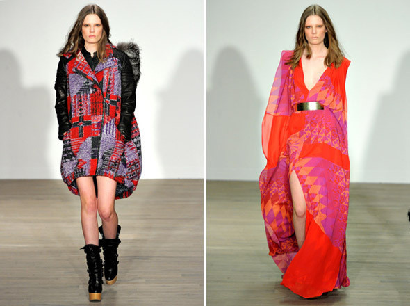 Показы на London Fashion Week AW 2011: день 3. Изображение № 8.