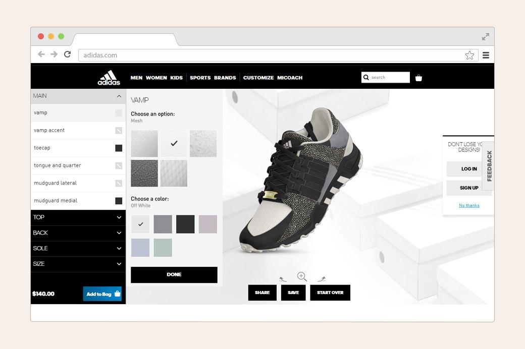 Дизайнеры тестируют конструкторы кроссовок. Изображение № 2.