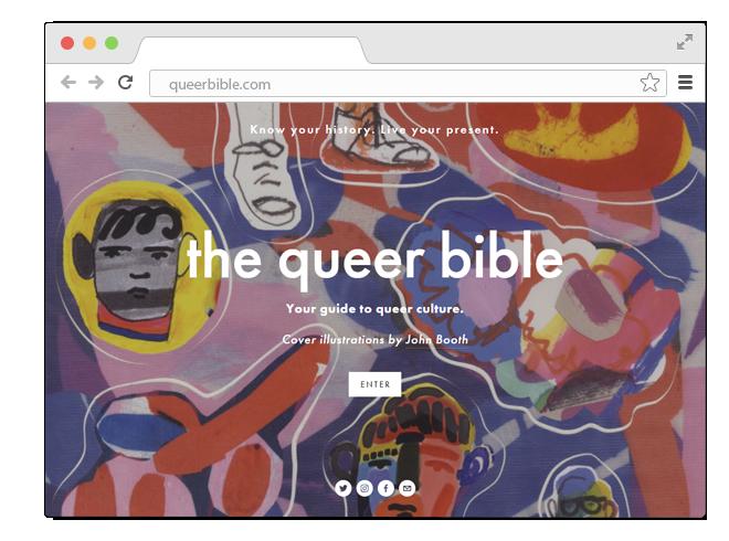 В закладки: Сборник эссе и интервью о квир-людях The Queer Bible. Изображение № 1.