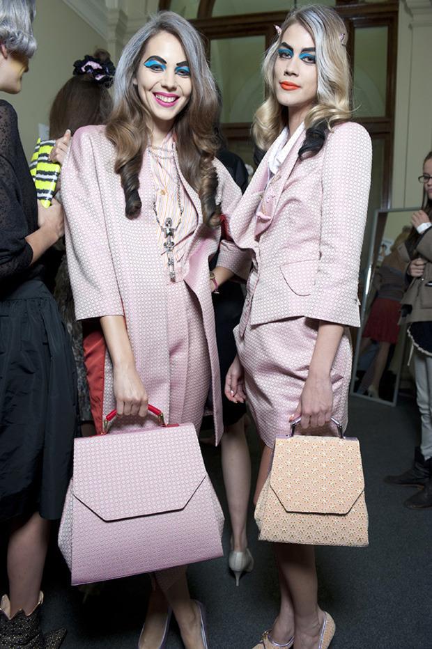 Неделя моды в Лондоне: Бэкстейджи. Изображение № 9.