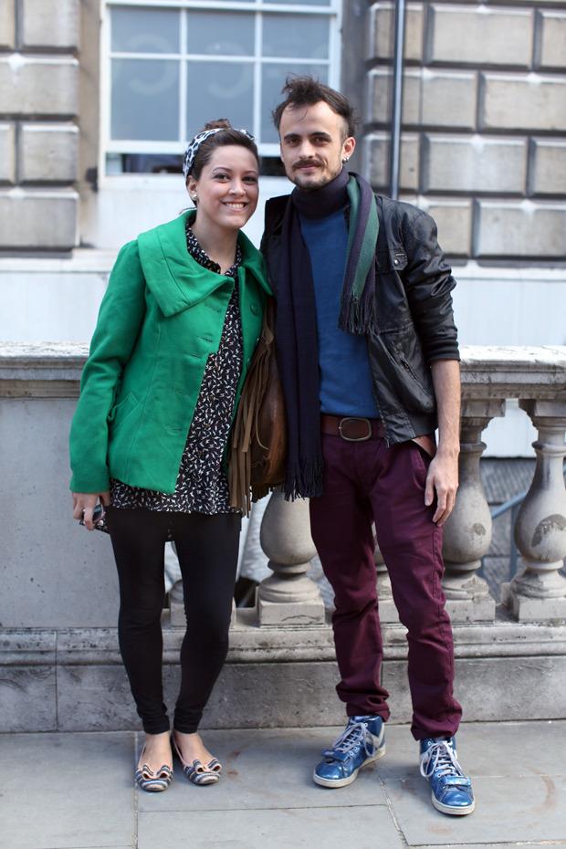 Streetstyle: Неделя моды в Лондоне, часть 1. Изображение № 36.