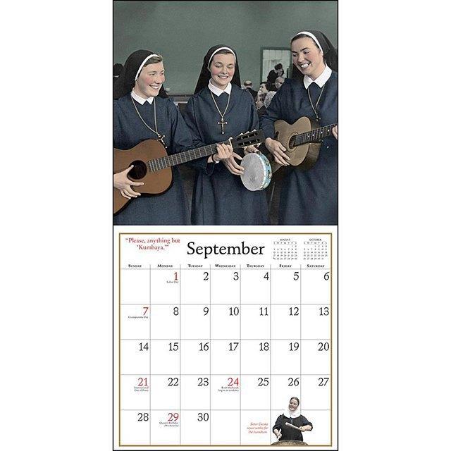 Самые абсурдные  календари на 2015 год. Изображение № 19.