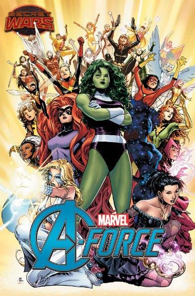 Marvel представили новую серию комиксов о команде супергероинь. Изображение № 1.