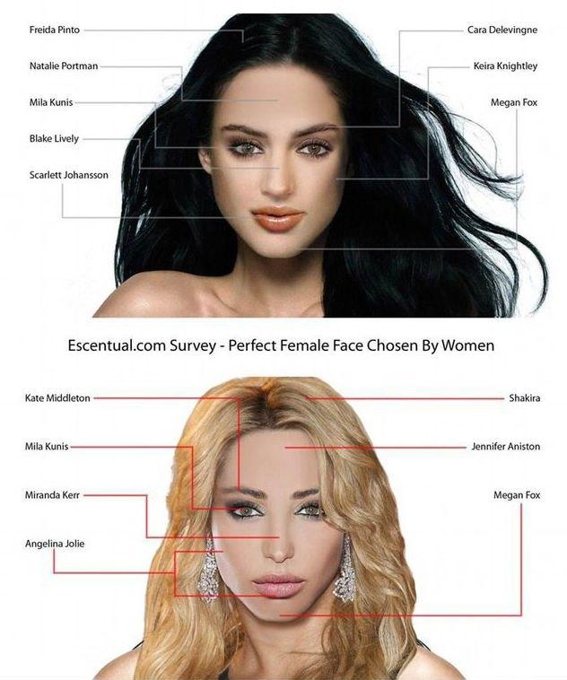 У мужчин и женщин разные представления о красоте. Естественно. Изображение № 1.