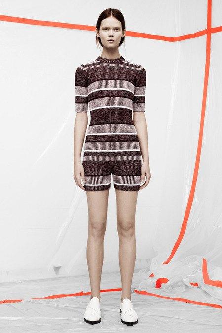 Кожаные толстовки и брюки в коллекции T by Alexander Wang. Изображение № 4.