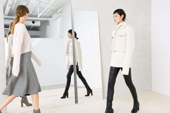 Кася Струсс, пальто и клетка в ноябрьском лукбуке Zara. Изображение № 9.
