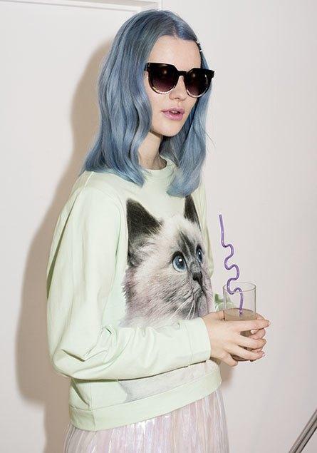 В новой рекламной кампании Monki снялись художница и кошка. Изображение № 3.