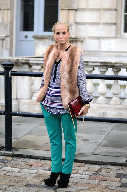 London Fashion Week: Уличный стиль, часть 1. Изображение № 33.
