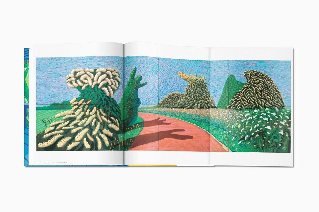 Гигантский альбом Taschen с работами Дэвида Хокни. Изображение № 10.