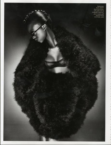Тёмные силы: 10 чернокожих моделей. Изображение № 80.