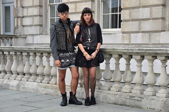 London Fashion Week: Уличный стиль, часть 3. Изображение № 5.