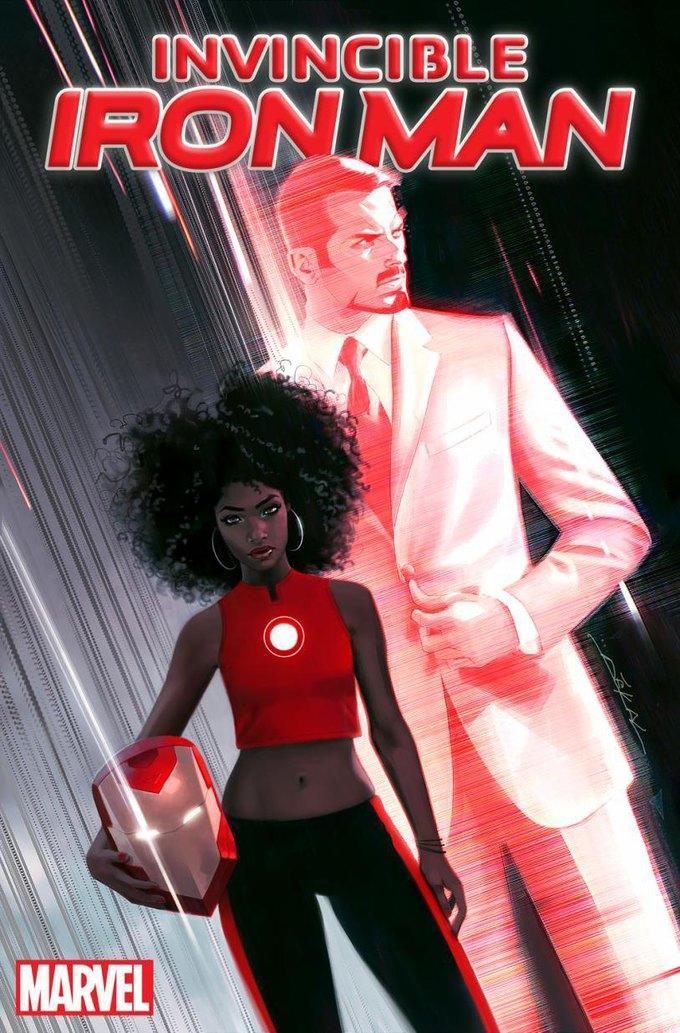 Новым Железным Человеком станет афроамериканка. Изображение № 1.