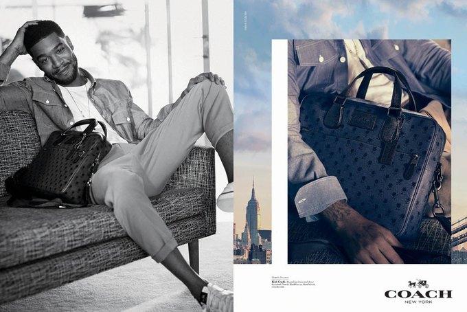 Хлоя Морец и Kid Cudi снялись в рекламной кампании Coach. Изображение № 5.