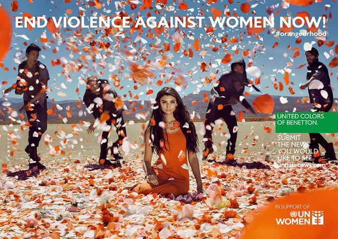Benetton и ООН запустили кампанию по борьбе  с насилием. Изображение № 1.