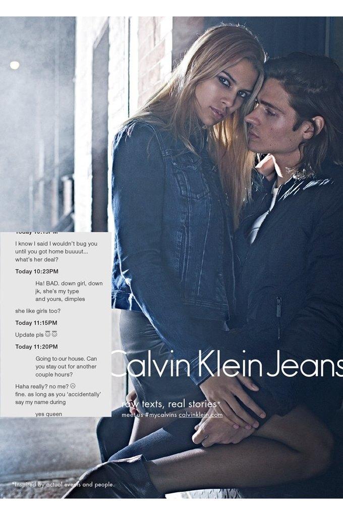 Calvin Klein посвятили рекламу онлайн-знакомствам и секстингу. Изображение № 2.