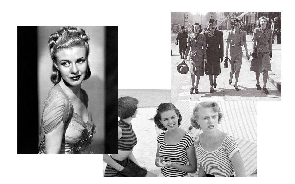 Женственность, 1940-е, Голливудский гламур. Изображение № 4.