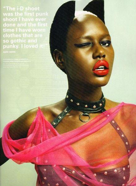 Тёмные силы: 10 чернокожих моделей. Изображение № 40.