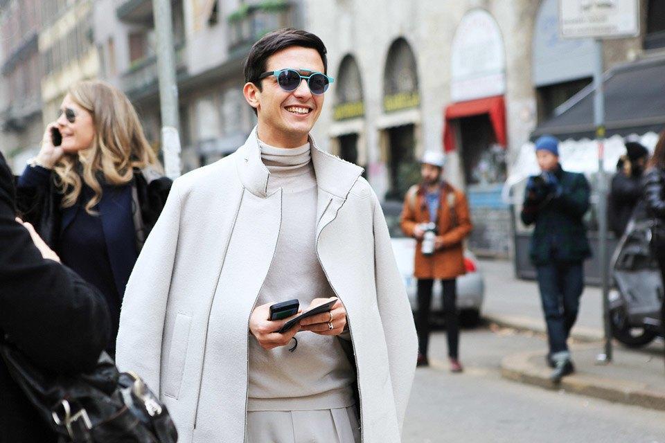 Анна Делло-Руссо, Элеонора Каризи и другие гости Миланской недели моды. Изображение № 8.