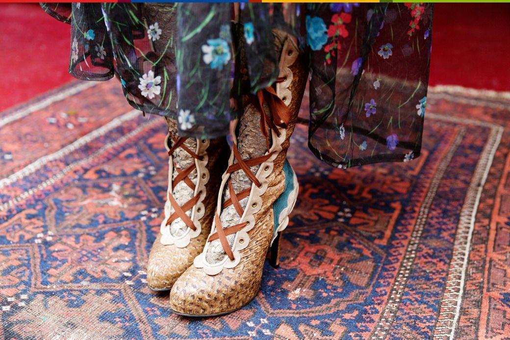 Психоделия: Дизайнер обуви Джорджи Би и ее коллекция винтажа. Изображение № 24.