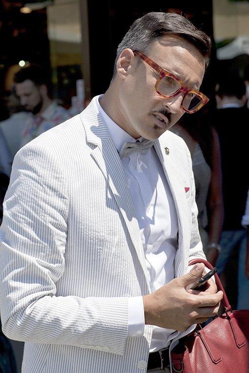 Красивые  мужчины  на Pitti Uomo. Изображение № 15.