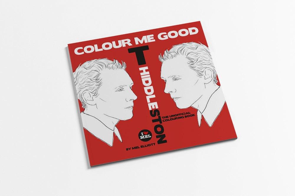 Книжка-раскраска  с Томом Хиддлстоном. Изображение № 1.