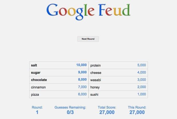 «Google Feud»: викторина  по популярным поисковым запросам. Изображение № 9.