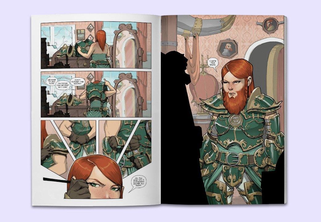 10 комиксов, по которым нужно срочно снять сериал. Изображение № 10.
