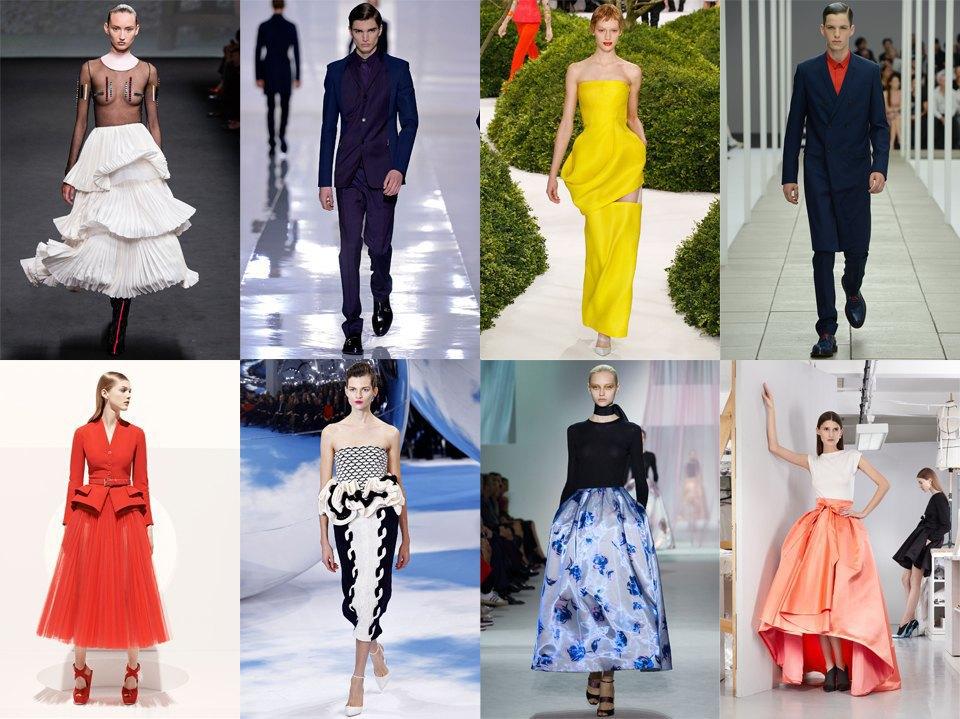 8 коллекций Dior за 2013 год созданы дизайнерами Рафом Симонсом, Биллом Гейттеном и Крисом ван Ашем (они, отметим, работают еще и над именными линиями). Изображение № 1.