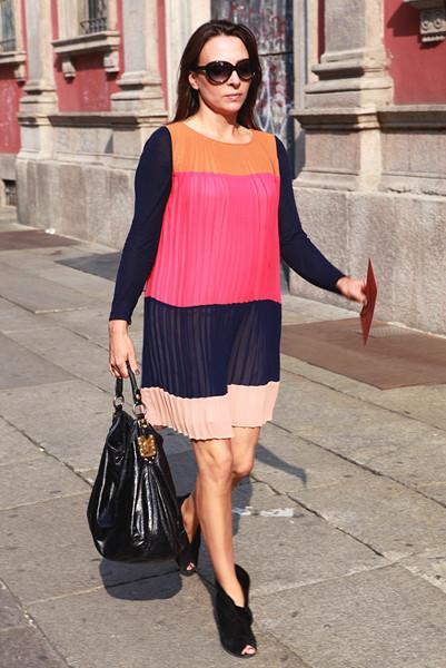 Milan Fashion Week: Уличный стиль, день 5. Изображение № 2.