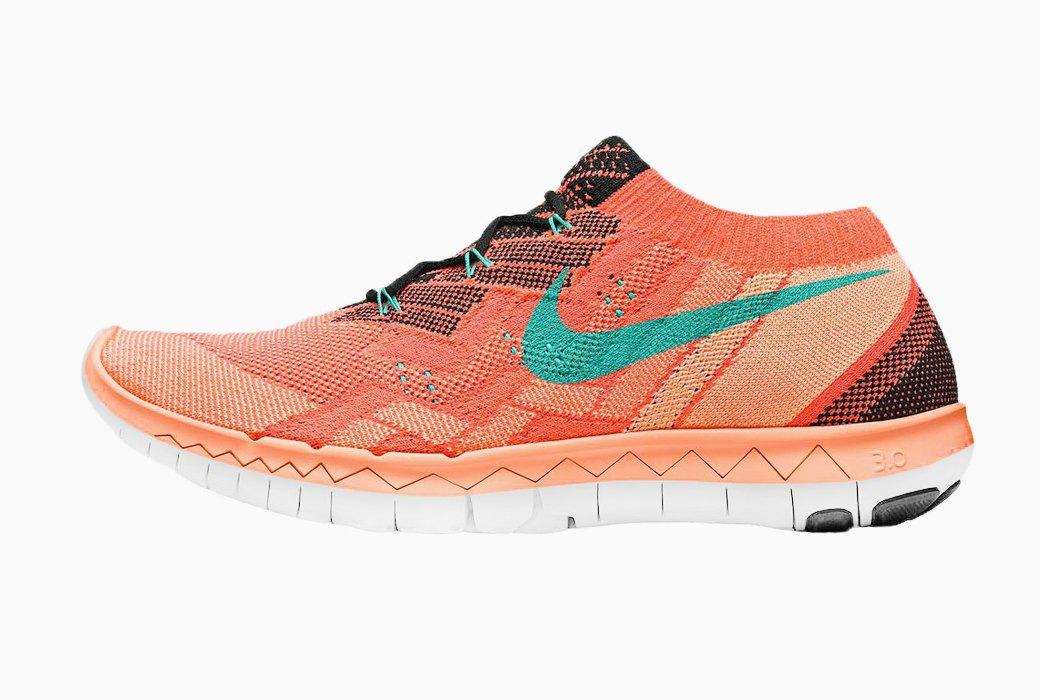 Nike Free 3.0 Flyknit помогают укрепить мышцы стоп и развить гибкость ног. Изображение № 14.