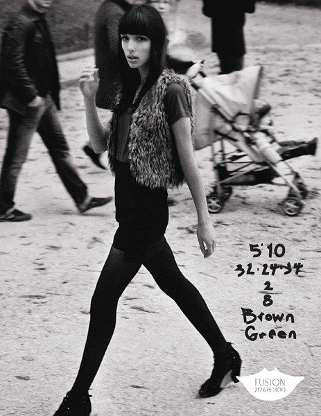 Композитки пяти модельных агентств к Нью-Йоркской неделе моды. Изображение № 33.