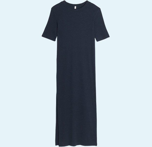 Трикотажные платья в рубчик: От простых до роскошных. Изображение № 8.