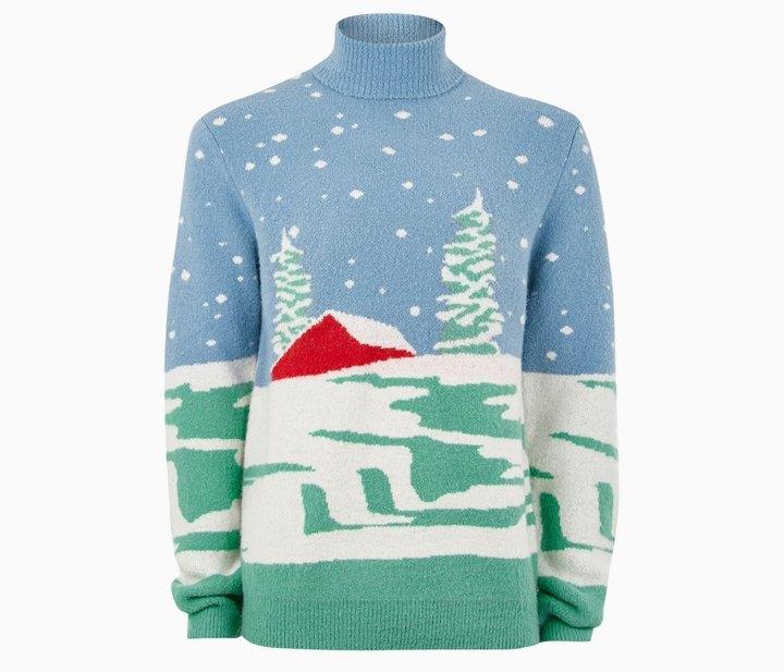 «Уродливые» свитера для Нового года: От простых до роскошных. Изображение № 2.