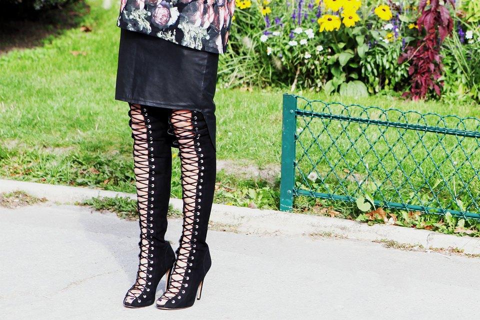 Кимоно, перья и сэтчелы на гостях показов Paris Fashion Week. Изображение № 8.