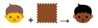 Создатели эмодзи дадут выбирать цвет кожи иконок. Изображение № 1.