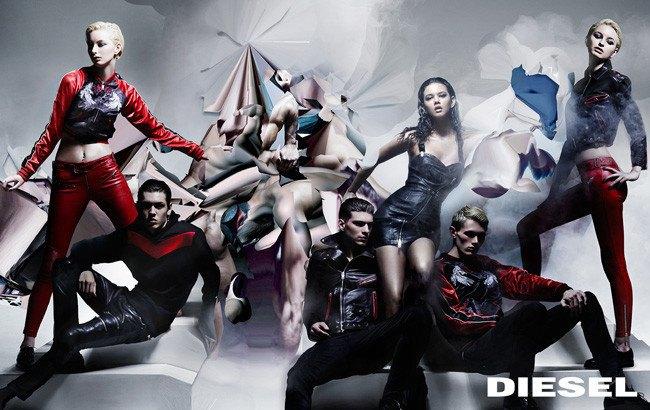 Diesel показал кампанию, вдохновленную Микеланджело и глитчем. Изображение № 2.