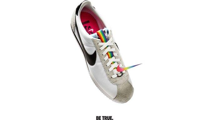 Nike и Converse представили коллекции  в поддержку ЛГБТ. Изображение № 9.