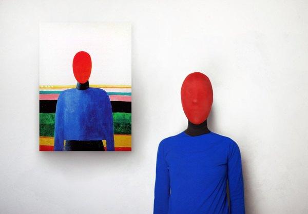Художница оживила моделей Малевича, Модильяни и Пикассо. Изображение № 4.
