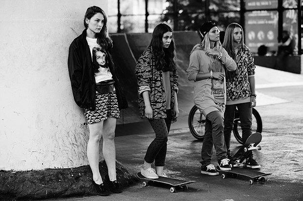 Женский пул:  Девушки на скейте. Изображение № 8.