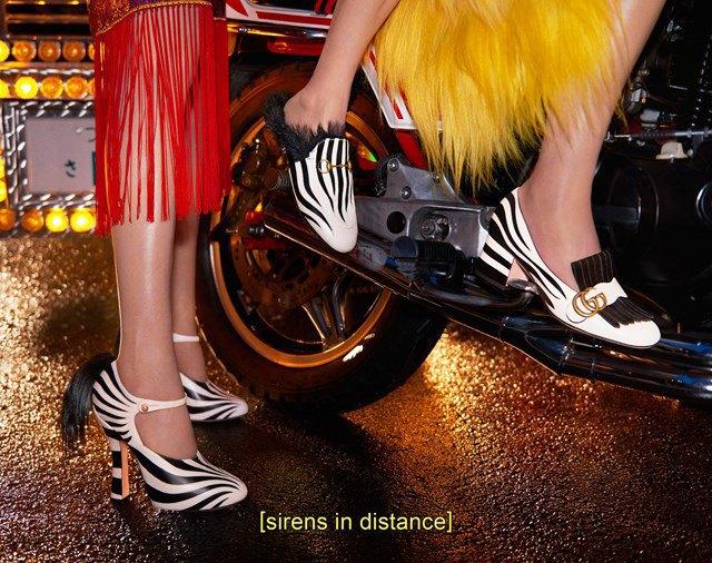 Вышла кампания Gucci  с Петрой Коллинз и ночным Токио. Изображение № 6.