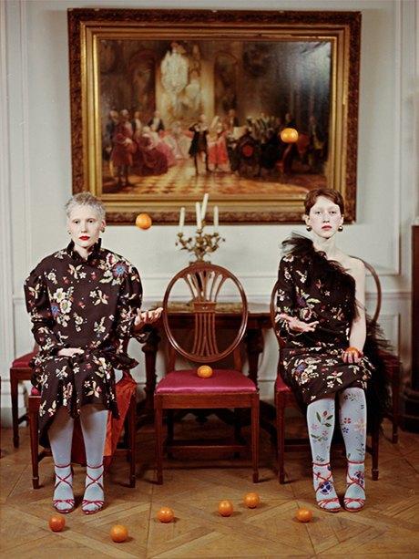 Съёмка Юлдус Бахтиозиной для Naya Rea по мотивам пьесы «Три сестры». Изображение № 13.
