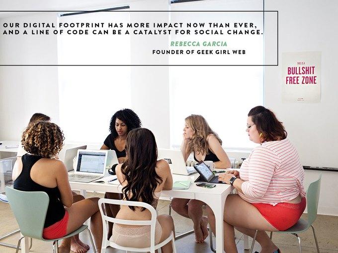 Dear Kate сняли лукбук  с женщинами, работающими в IT-сфере. Изображение № 4.
