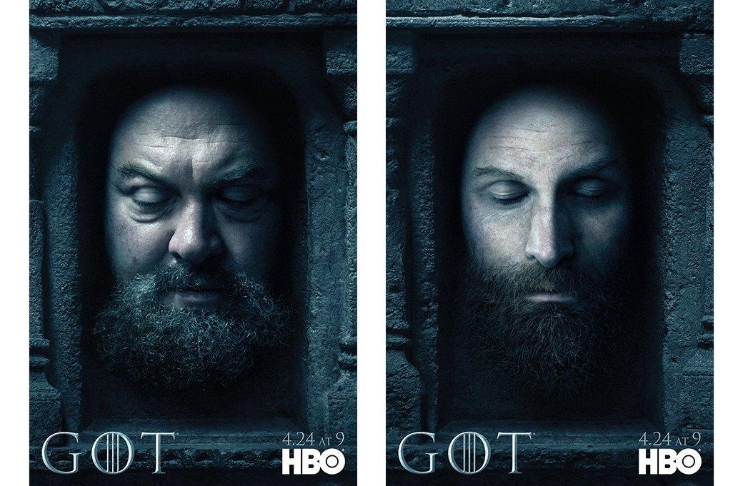 Постеры с героями «Игры престолов» к новому сезону. Изображение № 4.
