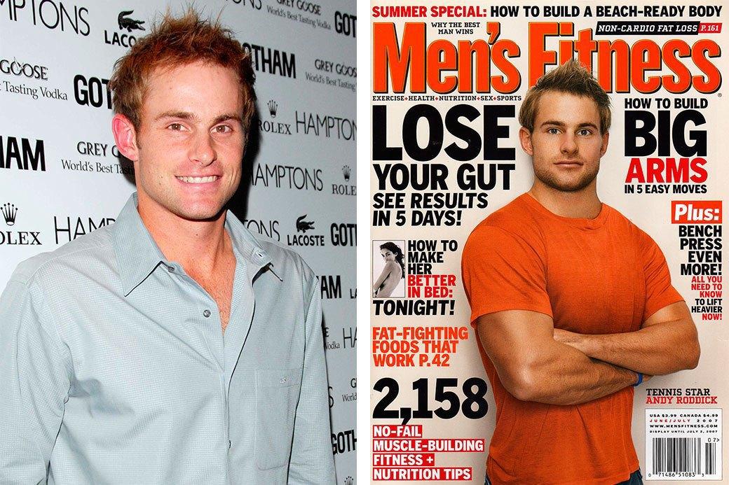 Нереально красивые: Знаменитые мужчины  до и после фотошопа. Изображение № 10.