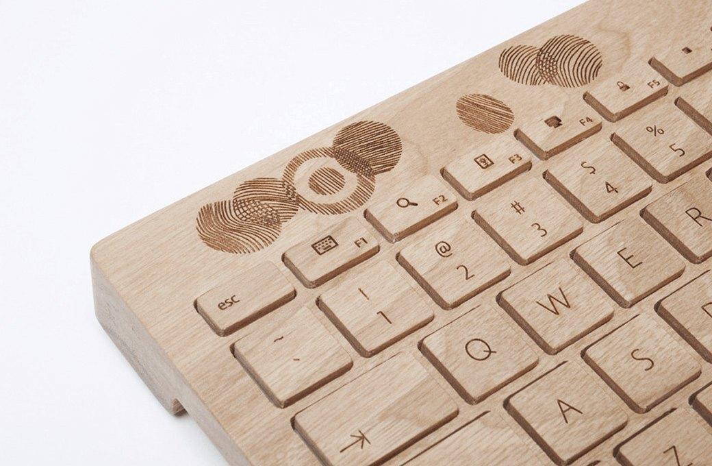 Деревянная клавиатура  Orée. Изображение № 3.
